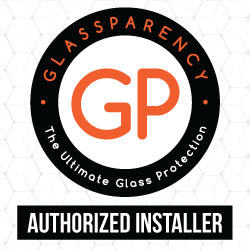 Glassparency authorized installer logo